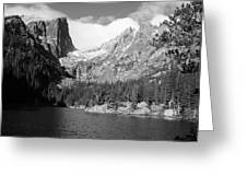 Dream Lake, Rocky Mountain National Park  Greeting Card