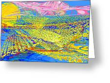 Dream Landscape Greeting Card
