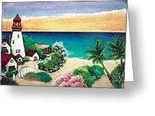 Dream Light House Greeting Card