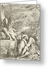 Dream Of Aeneas Greeting Card