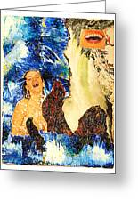 Dream Of The Fisherman's Wife Greeting Card