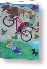 Dream Ride Greeting Card