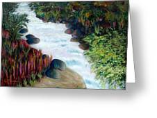 Dream River Greeting Card