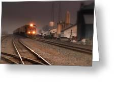 Dream Train.. Greeting Card