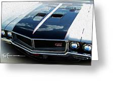 Buick With Attitude Greeting Card