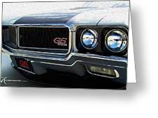 Buick With Gas Greeting Card