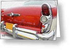Buick Reflecting Greeting Card