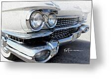 Candid Cadillac Greeting Card