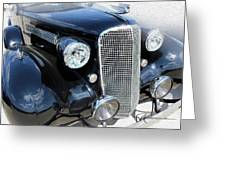 Classy Chassis Greeting Card