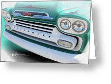 Dream_chevy104 Greeting Card