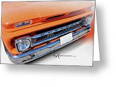 Dream_chevy107 Greeting Card