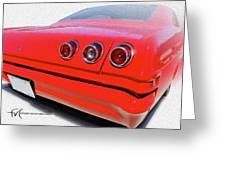 Dream_chevy114 Greeting Card