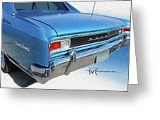 Dream_chevy126 Greeting Card