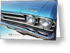Dream_chevy136 Greeting Card
