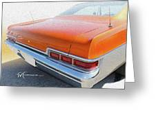 Dream_chevy147 Greeting Card