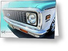 Dream_chevy150 Greeting Card