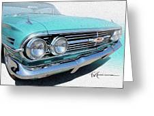 Dream_chevy151 Greeting Card