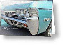 Dream_chevy157 Greeting Card