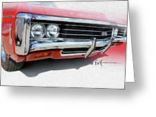 Dream_chevy164 Greeting Card