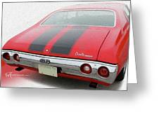 Dream_chevy183 Greeting Card