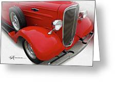 Dream_chevy188 Greeting Card
