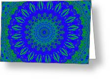 Dreamer Kaleidoscope Greeting Card