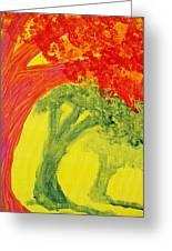 Dreaming And Shadows Greeting Card