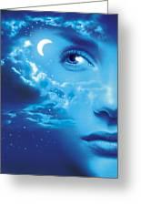 Dreaming, Conceptual Image Greeting Card