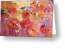 Dreaming Flowers Greeting Card