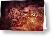 Dreaming Hortensia Greeting Card