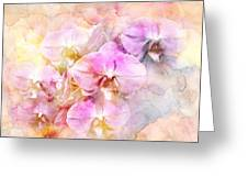 Dreaming Of Orchids Greeting Card