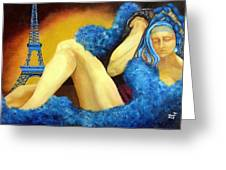 Dreaming Of Paris Greeting Card
