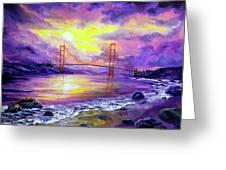 Dreaming Of San Francisco Greeting Card