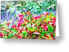 Dreaming Of Spring Greeting Card by Sherry Holder Hunt