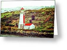 Dreaming Of The Georges Island Light In Halifax Greeting Card
