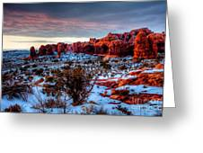 Dreaming Of Utah IIi Greeting Card