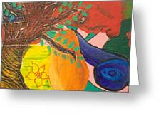 Dreaming Tree Abstract Greeting Card
