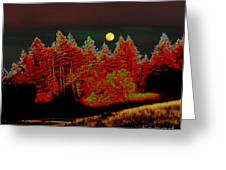 Dreaming Tree Moon Greeting Card