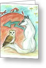 Dreamkeepers Greeting Card by Brandy Woods
