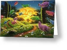 Dreamland IIi Greeting Card
