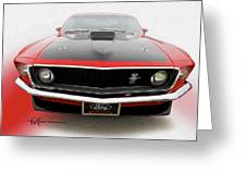Dream_mustang42 Greeting Card