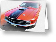 Dream_mustang48 Greeting Card
