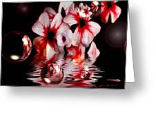 Dreams 5 - Floral Greeting Card