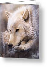 Dreamscape - Wolf Greeting Card