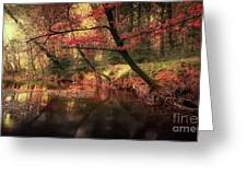 Dreamy Autumn Forest Greeting Card
