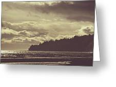 Dreamy Coastline Greeting Card