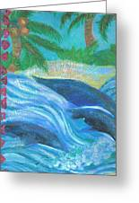 Dreamy Dolphins Greeting Card