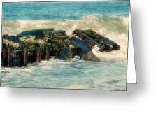 Dreamy Jetty - Jersey Shore Greeting Card