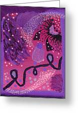 Dreamy Abstract Greeting Card