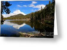 Dreamy Lake In The Rockies Greeting Card